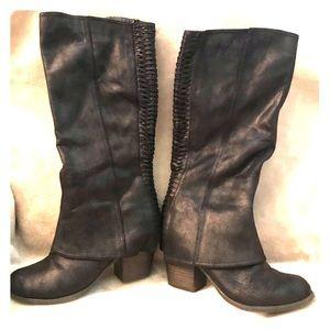 Fergalicious Brand Black Boots